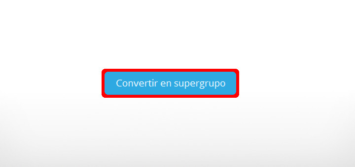 actualizar telegram supergrupo