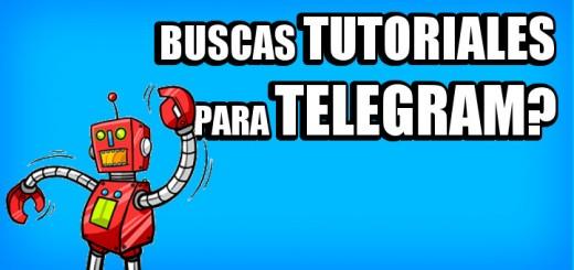 telegram tutoriales