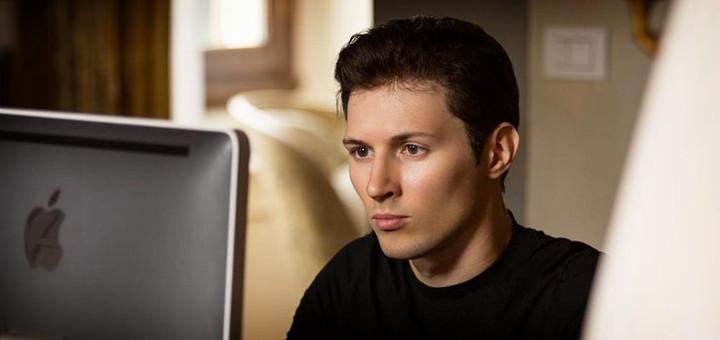 Pavel Durov. Fundador de Telegram.