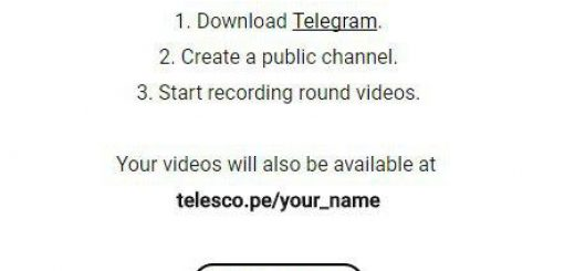 telegram telescope